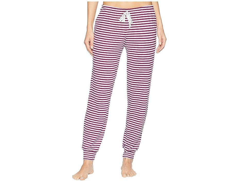 Jockey Striped Jogger Pajama Pants (Cozy Stripe) Women