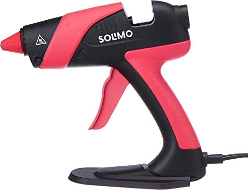 Amazon Brand Solimo Hot Melt Glue Gun 70 W Compatible with 11mm Glue Stick