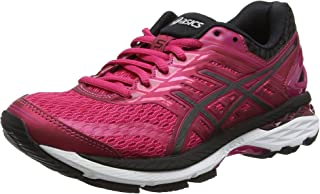 Asics GT-2000 Women's Running Shoes, Pink/Black/White, AU6