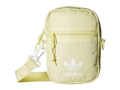 adidas Originals Originals Festival Bag Crossbody (Ice Yellow) Bags