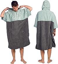 UK Colourful Hooded Poncho Towel Changing Robe Adult Beach Swim Towel Kitesurf