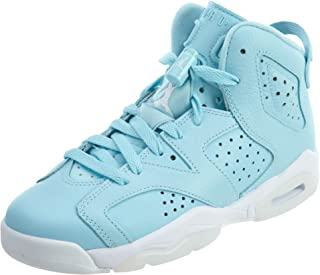 Jordan Unisex-Adult Mens JORD-384665 Nike Air 6 Retro Bg White/Mango/Green 384665-114