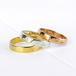 custom signature rings