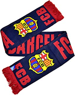 FC Barcelona Official Football/Soccer Crest Winter Scarf