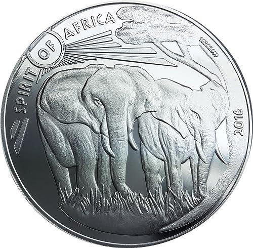 MCI-MINT Spirit of Africa III - Elefant - 2016 - 1 oz AG 0.999