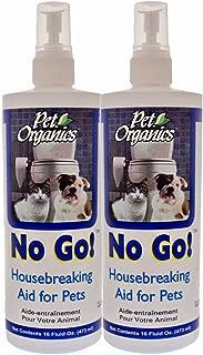 Pet Organics No-Go Housebreaking Aid Spray 16 oz - Pack of 2
