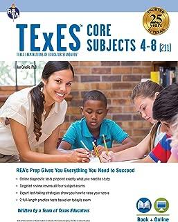 TExES Core Subjects 4-8 (211) Book + Online (TExES Teacher Certification Test Prep)