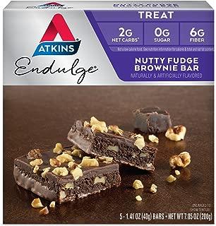 atkins nutty fudge brownie nutrition