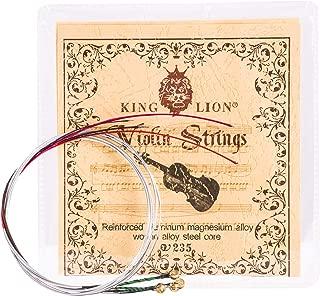 violin string sizes