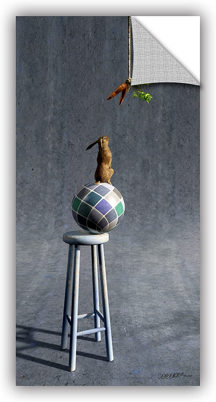 Artwall 0dec008a1836p Cynthia Decker's Equilibrium 2, Art Appeelz Removable Wall Art Graphic, 18Inch X 36Inch