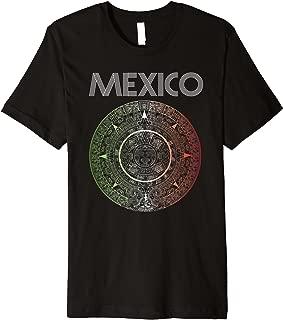 Mexico Aztec Shirt Retro Soccer 2018 Futbol Russia Tri Goal