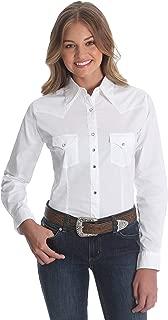 Women's Western Yoke Two Snap Flap Pocket Shirt