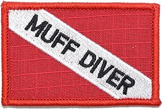 Muff Diver - Diver Down Scuba Flag - 2x3 Morale Patch