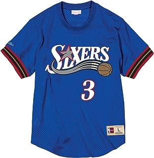 NBA Philadelphia 76ers Allen Iverson #3 Mesh Crewneck Jersey
