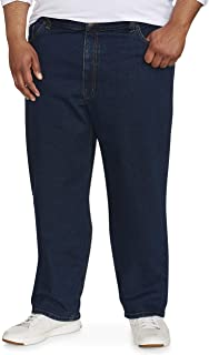 Men's Big & Tall Relaxed-fit Stretch Jean fit by DXL