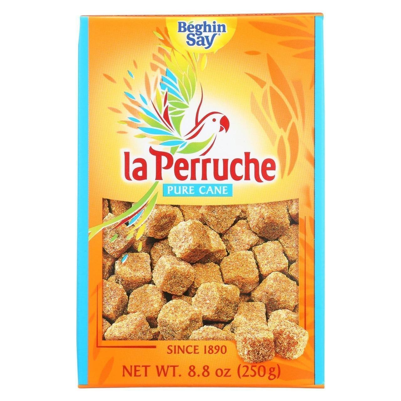 La Perruche Rough Cut Brown Sugar Cubes 8.8 oz Max 61% Albuquerque Mall OFF - of Pack 4