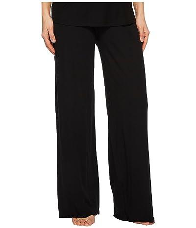Skin Double Layer Pants (Black) Women