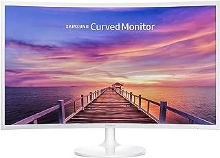 """Samsung LC32F391FWLXZX - Monitor LED Curvo de 32"""" con Diseño Super Slim, 1920 x 1080, 16:9, 1 HDMI, 60 Hz, Blanco"""