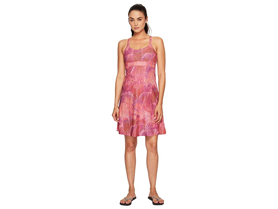 Marmot Taryn Dress (Neon Berry Day Dream) Women