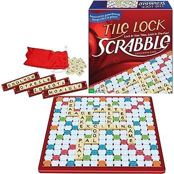 Tile Lock Scrabble Game 【並行輸入品】