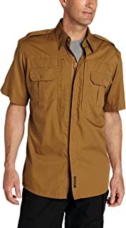 (X-Small, Coyote) - Propper F531150 Tactical Lightweight Short Sleeve Shirt, Coyote, Extra Small