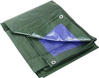 Labor 0300152Lona de PVC reforzada con ojales, verde,