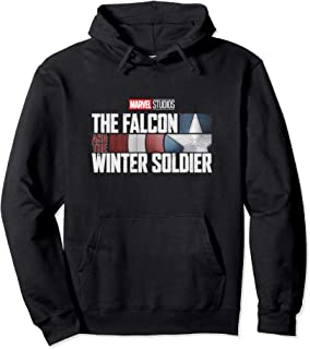 Marvel The Falcon and the Winter Soldier Sweat à Capuche