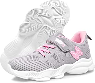 Girls Running Shoes Sneakers - Girls Tennis Breathable...