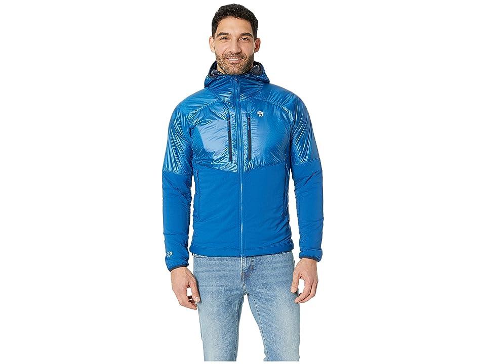 Mountain Hardwear Aostatm Hooded Jacket (Nightfall Blue) Men