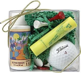 Arizona Sun Golf Set – Includes Sun Screen SPF 15 – Sun Protection – SPF 15 Lipkist Lipbalm – Sun Protection lip balm for lips - Golf Tees – Ball Markers – Golf Ball - Perfect Gift Idea For a Golfer