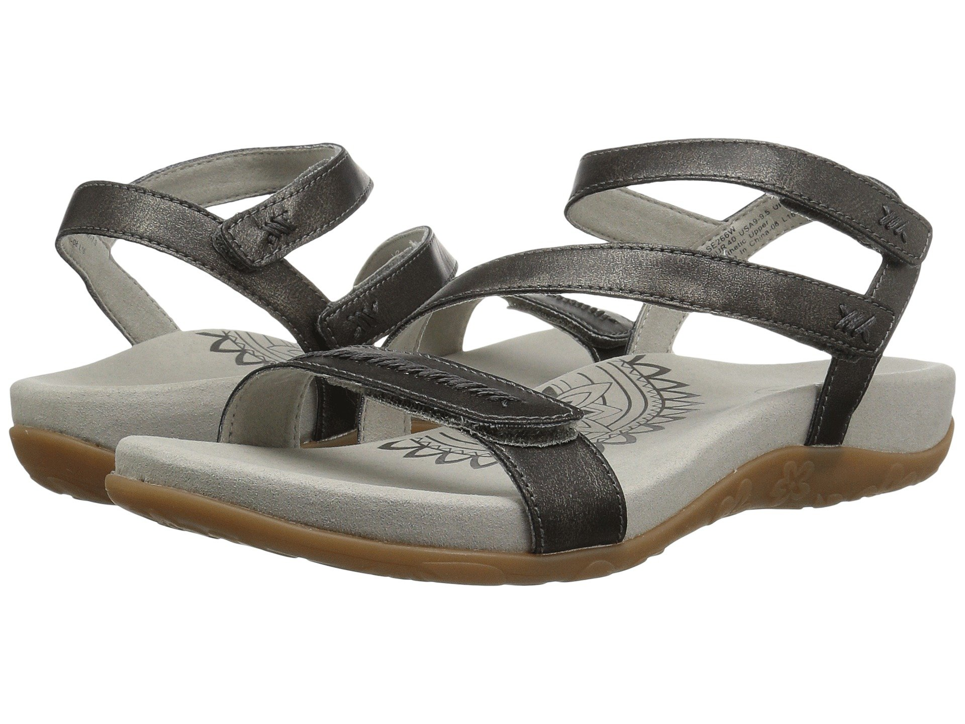 06473e881563c0 Women s Pewter Sandals + FREE SHIPPING
