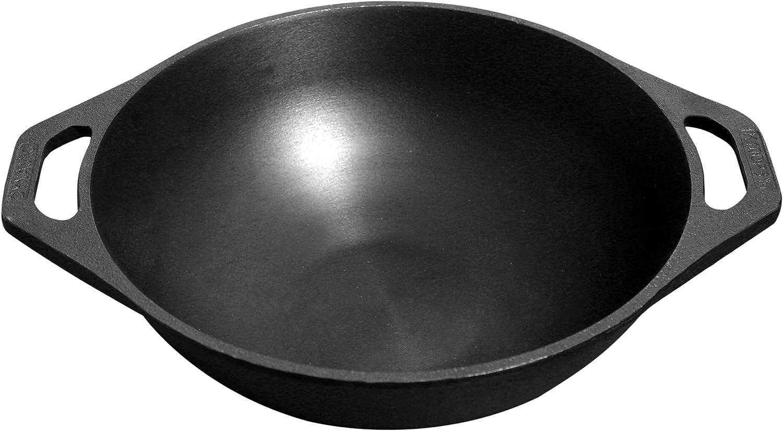 Dynamic Cookwares Premium Cast Iron Free Shipping Kansas City Mall Cheap Bargain Gift Machined 10 inch Kadhai