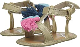 T-Strap Sandal with Tassels - Waddle (Infant)