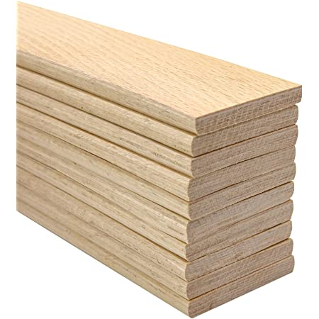 20 Slats Pack Individual Replacement Beech Sprung Wooden Bed Slats 53mm x 8mm x 915mm Bespoke or Custom Length Also Available in Any Length .