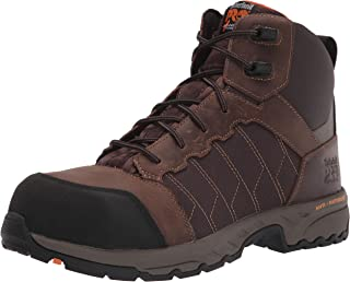 """Timberland PRO Men's Payload 6"""" Composite Safety Toe Industrial Boot, Brown"""