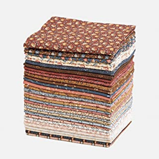 Connecting Threads Print Collection Precut Quilting Fabric Bundle Fat Quarters (Memory Lane)
