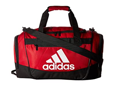 adidas Defender III Small Duffel (Power Red/Black/White) Duffel Bags
