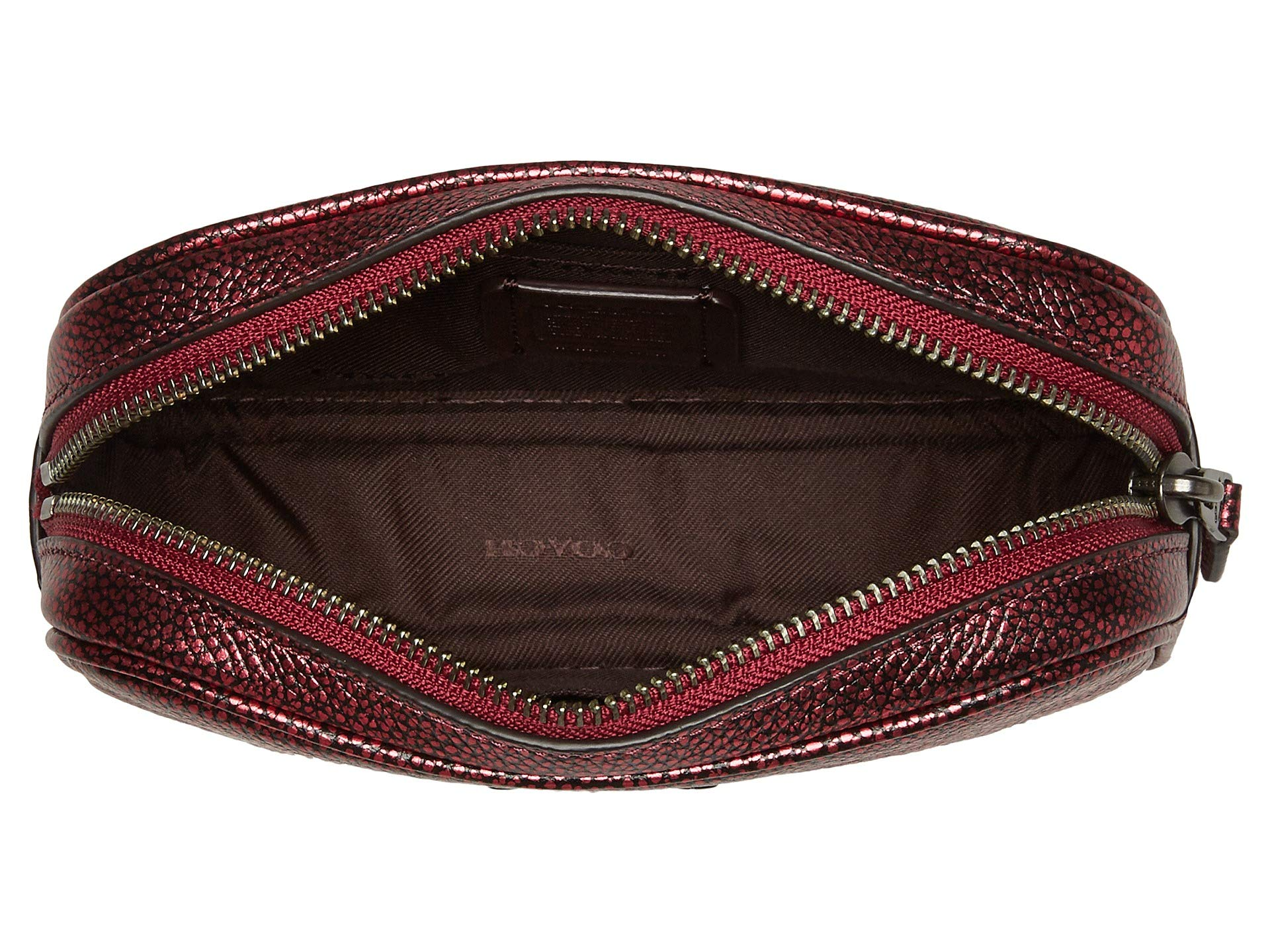 Belt Bag Dressy metallic Coach Berry Gm Leather Metallic xvUqwwI1t