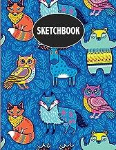 Sketchbook: Cute Animals Sketchbook for Boys & Girls ~ Large Sketch Book for Doodling, Drawing, Sketching & Writing