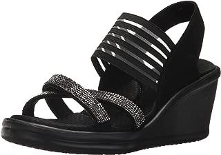 Women's Rumblers-Modern Maze Wedge Sandal