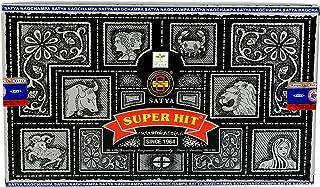 CRAFTSTRIBE Satya Sai Baba オリジナルお香 ハンドメイド マサラ アガーバティ Pack of 12 Pcs CT-INS-09