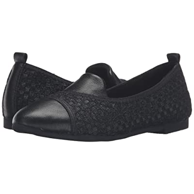 bernie mev. Sola (Black Metallic/Black Leather) Women