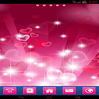 Pink Glow GO Launcher EX theme