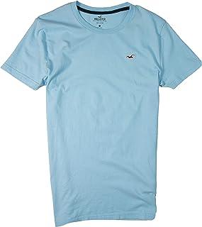 Hollister Men's Tee Graphic T-Shirt - V Neck - Crew Neck