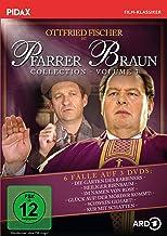 Pfarrer Braun Collection, Vol. 3 / Weitere sechs Folgen der Krimireihe mit Ottfried Fischer (Pidax Film-Klassiker) [3 DVDs]