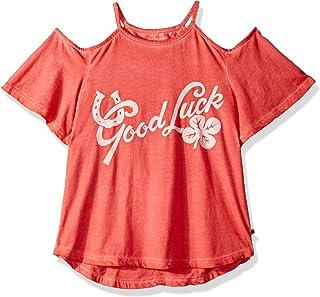 Lucky Brand Big Girls' Cold Shoulder Tee Shirt