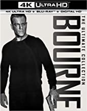 The Bourne Ultimate Collection (4K Ultra HD + Blu-ray + Digital HD)