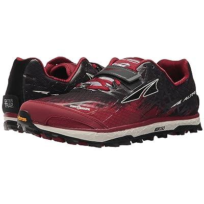 Altra Footwear King MT 1.5 (Red) Men