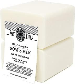 Saint Terra - Goat's Milk Melt & Pour Soap Base, 2 Pounds