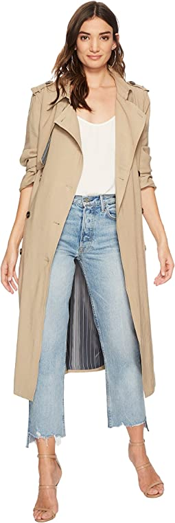Double Breast Trench Coat